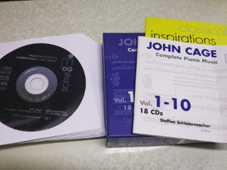 John Cage, Complete piano music